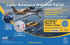 CalAir Welcome Party Invite